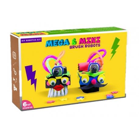 BE CRE8V Mega & Mini Brush Robots