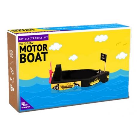BE CRE8V Motor Boat Kit (Foam)