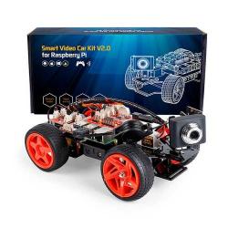 SunFounder PiCar-V V2.0 Raspberry Pi (with Batteries and Charger)