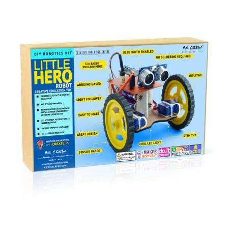 BE CR8V Little Hero Robot Arduino