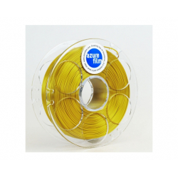 AzureFilm Filament, PLA, 1.75 mm, 1 kg, silk gold