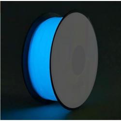 Adaptway PLA Glow in the Dark Filament, 1.75 mm, 1kg, blau