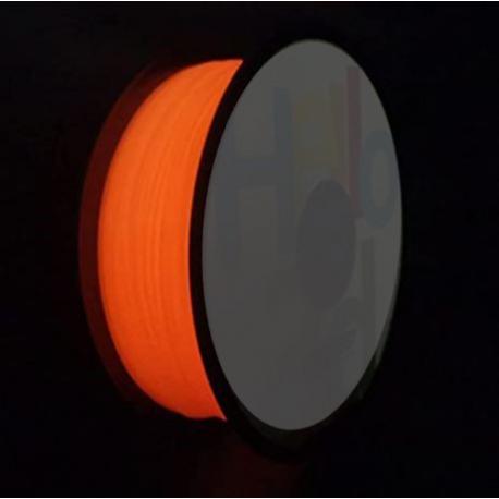 Adaptway PLA Glow in the Dark Filament, 1.75 mm, 1kg, rot