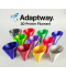 Adaptway PLA Glow In The Dark Filament, 1.75 mm, 1 kg, red