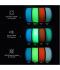 Adaptway PLA Glow in the Dark Filament, 1.75 mm, 1kg, weiss