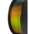 Adaptway PLA Multicolor (Temperature) Filament, 1.75 mm, 1 kg, tri color lava