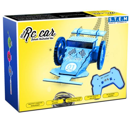 BE CRE8V Wired RC Car Kit