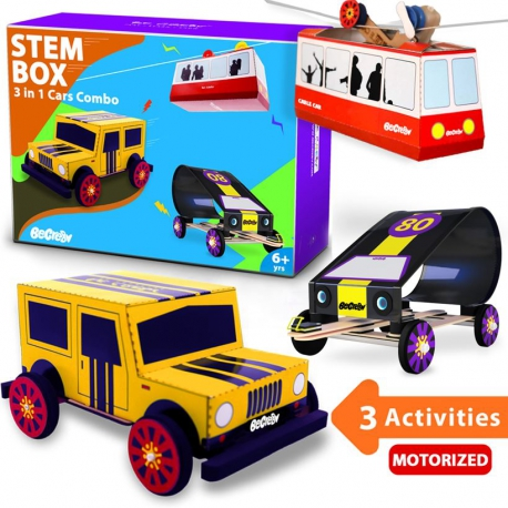 Cars Combo 3-in-1