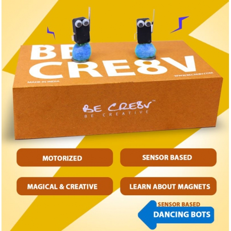 BE CRE8V Dancing Bots