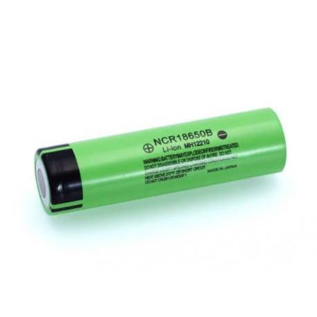 Panasonic Li-Ion Battery 18650B, 3.7 V, 3400 mA